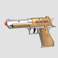 宜佳达 电动儿童玩具枪声光音乐枪AK47模型男孩玩具冲锋枪机关枪3-6岁六一儿童节礼物