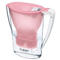 BWT倍世厨房家用净水壶直饮便携户外净水壶过滤净水器净水杯2.7升 阻垢款一壶一滤芯 紫色 蓝色 橙色 白色 绿色 粉