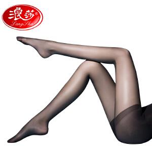 【全店满99减40】5条浪莎丝袜超薄净面无横纹隐形包芯丝绢感觉加裆连裤袜丝袜打底袜子