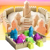 魔力粘土沙滩男孩女孩橡皮泥火星沙太空儿童玩具沙子套装