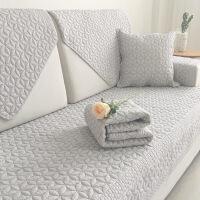沙发垫四季通用棉布艺坐垫简约现代实木北欧沙发套沙发巾罩