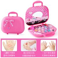 小女孩过家家化妆盒手提箱演出儿童化妆品公主彩妆盒玩具套装