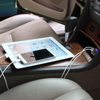 汽车内车载多功能24v伏点烟器转换USB接口车上充电器冲电源插头截