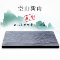 【好店】乌金石茶盘浮雕整块天然大号石材简约家用茶台茶海石头茶具