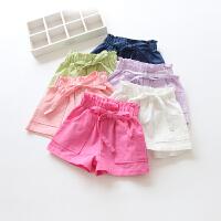 女童短裤夏季中小童糖果色短裤儿童热裤子潮