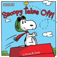 Snoopy-Peanuts: Snoopy Takes Off!( 货号:9781481425544)