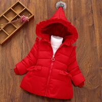 2018童装 宝宝棉衣服0-5岁婴幼儿童加厚外套冬装棉袄女童