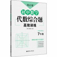 周计划 初中数学代数综合题高效训练 7年级 答案详解版 华东理工大学出版社