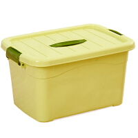 2019新品新品加厚收纳箱手提储物箱塑料整理箱收纳盒有盖小号装衣服箱子三件套 5件套 特大+加大+大+中+小