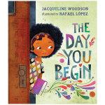 The Day You Begin 开始的那天 英文原版儿童绘本 3-6岁