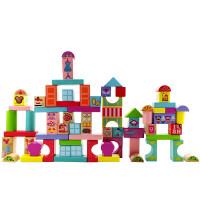 米奇妙妙屋积木桶装100粒1-2-3周岁宝宝玩具儿童男孩儿童宝宝玩具