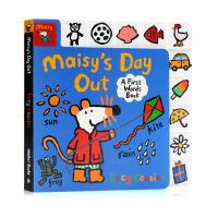 小鼠波波的一天 英文原版 Maisy's Day Out: A First Words Book 廖彩杏书单 幼儿早教英