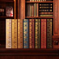 假书书架装饰品欧式复古仿真书现代简约摆设品书房装饰书创意摆件