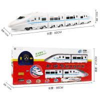 和谐号遥控火车充电动大号高铁动车仿真轨道儿童男孩汽车玩具模型 白色和谐号火车
