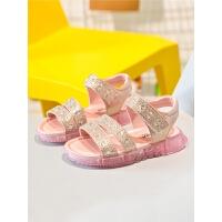 儿童鞋宝宝公主鞋软底鞋2019夏季新款时尚韩版小女孩中大童女童凉鞋
