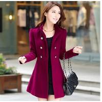 小矮个子韩国外套短款女中长款韩版大衣