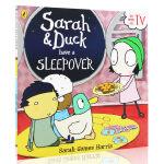 Sarah and Duck Have a Sleepover 莎拉和乖乖鸭 进口英文原版绘本 平装儿童图画书 BBC