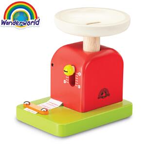 [当当自营]泰国Wonderworld 计重器 过家家角色扮演益智玩具 木质玩具