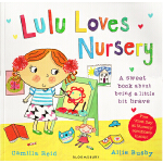 Lulu Loves Nursery 露露爱童谣 英文原版幼儿启蒙 店长强烈推荐 露露大明星系列
