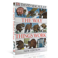 The Way Things Work DK万物运转的秘密:给青少年的物理世界入门书 David Macaulay 进口原版少儿启蒙认知科普读物