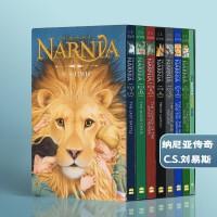 【全店满300减80】#纳尼亚传奇英文原版小说 The Chronicles of Narnia 全7册 +指导手册 狮子 女巫和魔衣橱 青少年 10 15岁