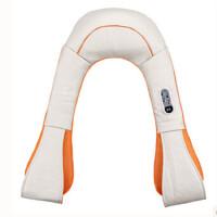 朗悦 按摩披肩 肩部颈部背部多功能按摩器 按摩仪 按摩肩带 99种模式调节 20种力度调节