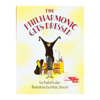 【11.11狂欢钜惠】美国进口交响乐团上装了 The Philharmonic Gets Dressed 有趣的故事绘本平装7-10岁