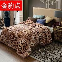 毛毯加厚珊瑚绒冬季双层保暖绒毯8/10/12斤结婚庆盖毯被子定制
