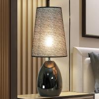 LED触摸感应台灯卧室床头灯创意简约个性现代台灯北欧 触摸开关