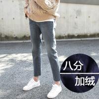 九分牛仔裤女2019春装新款韩版显瘦百搭阔腿直筒宽松裤子