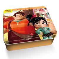 迪士尼卡通全明星铁盒拼图书:无敌破坏王・游戏危机