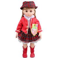 安娜公主 会说话会唱歌的智能对话洋娃娃 早教故事机 关节可以活动带遥控器 2779-5-23