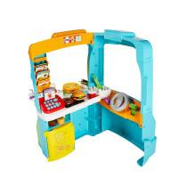 �M雪(Fisher Price) 新品多功能美味大餐� �^家家仿真�N房�和�玩具 DYM74