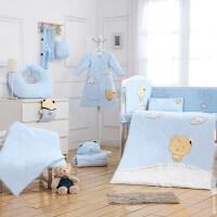 婴童床品套件婴儿床品新生儿童床上用品套件秋冬季三件套定制宝宝床品ZQ-YS008