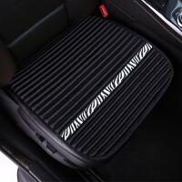 汽车坐垫单片无靠背三件套四季通用荞麦壳座垫夏季冰丝透气凉垫子