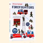 消防队员Ultimate Spotlight Firefighters英文原版精装立体翻翻机关书 儿童益智早教火灾逃生