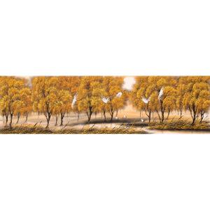小蒙《鹤舞》花鸟 风景 大尺幅 国画 精品 装饰 送人字画的佳品