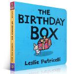 顺丰发货 The Birthday Box 幼儿启蒙认知英文原版纸板书绘本 Leslie Patricelli 亲子读