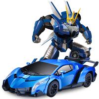 感应变形遥控汽车人充电动遥控车男孩玩具车儿童电动玩具