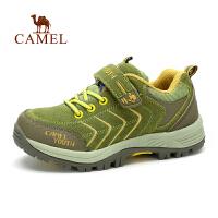 camel骆驼户外童款登山鞋 秋冬出游徒步防水抗冲击青少登山鞋
