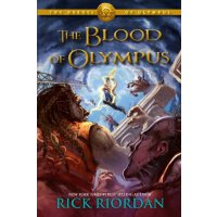 英文原版 The Blood of Olympus: Heroes of Olympus Book 5 奥林巴斯的血(奥林巴斯的英雄书5)