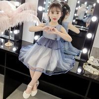 2019夏季新款洋气小女孩公主裙儿童装裙子女童夏装连衣裙