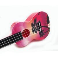 支持货到付款 vorson 彩印 ukulele 23寸 C型 夏威夷系列 尤克里里 标准弦长 乌克丽丽 小四弦吉他专