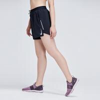 NIKE耐克男裤运动短裤2019新款跑步训练透气宽松黑色休闲运动服AJ7778