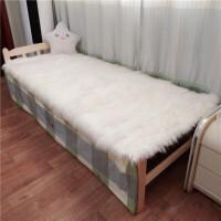 羊毛床垫羊皮褥子羊羔毛绒床褥榻榻米学生宿舍单毛一体保暖定制