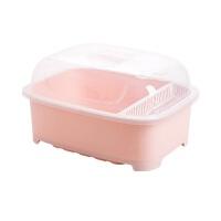 带盖碗碟架放碗架收纳盒盘子架家用碗筷沥水架厨房水槽碗柜置物架