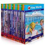 顺丰发货 key words分级阅读 7-12级18本套装 内容贴近儿童生活学习的各种场景,能够让孩子脱口而出漂亮的英