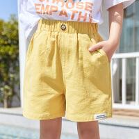 女童短裤夏百搭宝宝儿童装运动夏装薄款中大童裤子