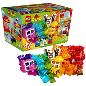 [当当自营]LEGO 乐高 DUPLO得宝系列 乐高?得宝?创意拼砌篮 积木拼插儿童益智玩具10820