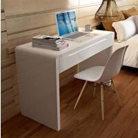 书桌简约现代小户型写字台学生学习桌家用台式办公桌笔记本电脑桌